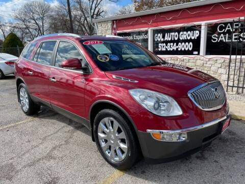 2012 Buick Enclave for sale at GOL Auto Group in Austin TX