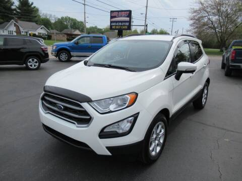 2019 Ford EcoSport for sale at Lake County Auto Sales in Painesville OH
