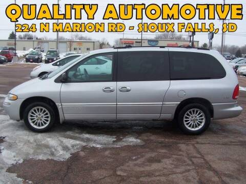 2000 Chrysler Town and Country for sale at Quality Automotive in Sioux Falls SD