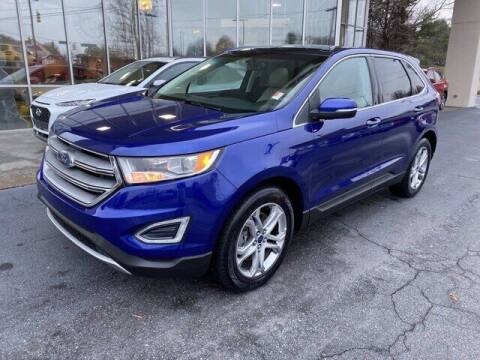 2015 Ford Edge for sale at Credit Union Auto Buying Service in Winston Salem NC