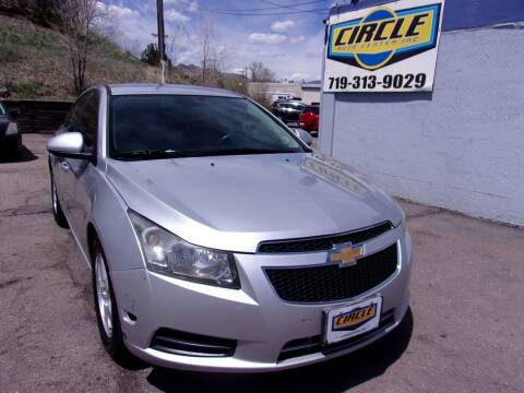 2013 Chevrolet Cruze for sale at Circle Auto Center in Colorado Springs CO
