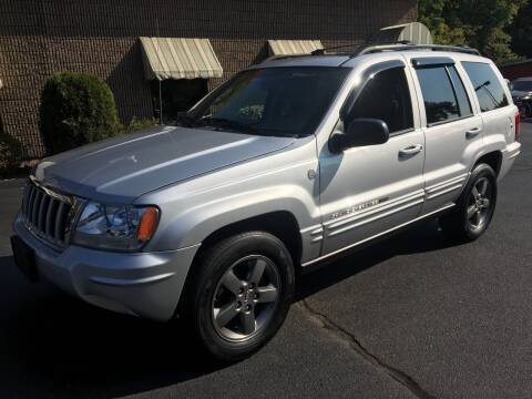 2004 Jeep Grand Cherokee for sale at Depot Auto Sales Inc in Palmer MA