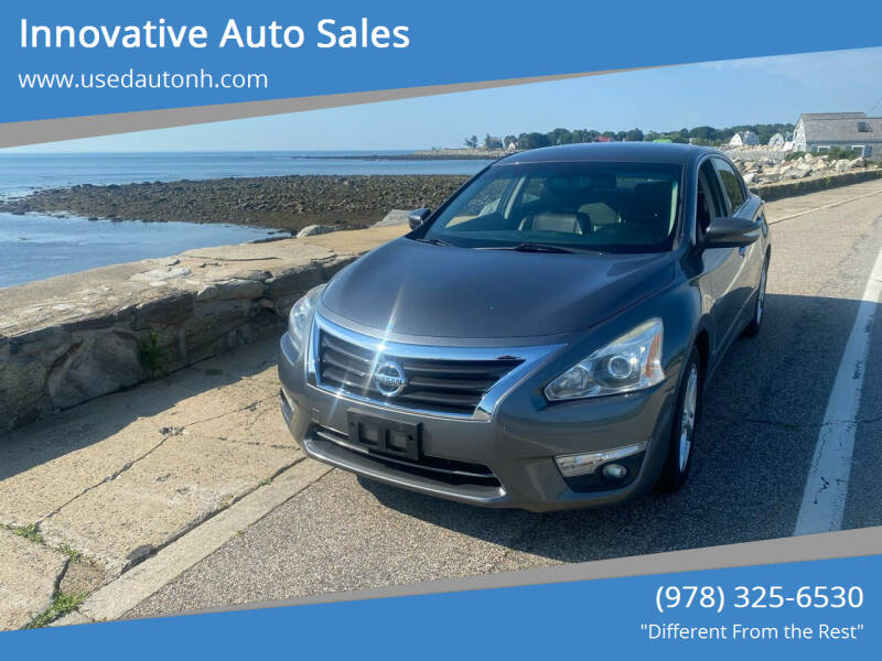 2015 Nissan Altima for sale at Innovative Auto Sales in North Hampton NH
