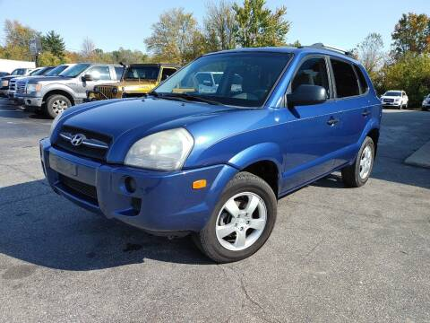 2007 Hyundai Tucson for sale at Cruisin' Auto Sales in Madison IN