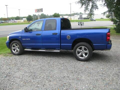 2007 Dodge Ram Pickup 1500 for sale at Johnson Used Cars Inc. in Dublin GA