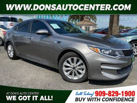 2016 Kia Optima for sale at Dons Auto Center in Fontana CA