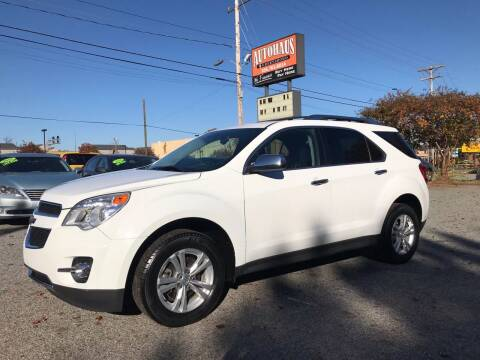 2013 Chevrolet Equinox for sale at Autohaus of Greensboro in Greensboro NC