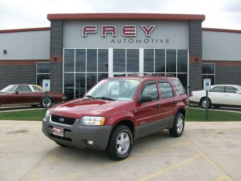 2001 Ford Escape for sale at Frey Automotive in Muskego WI