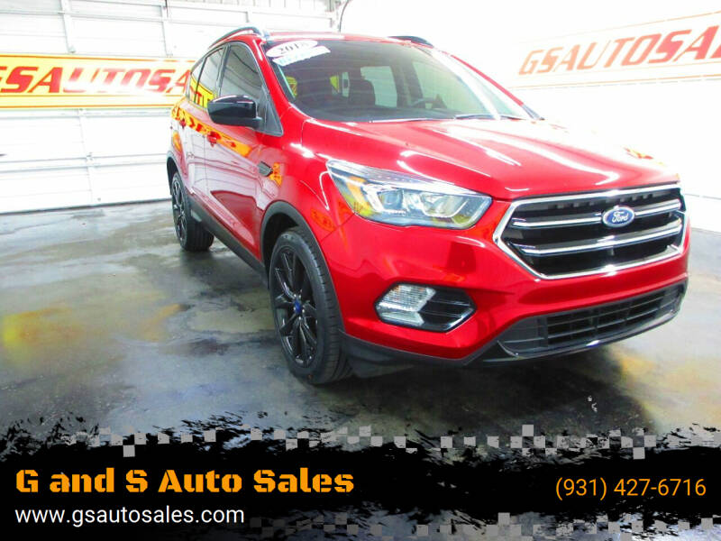 2018 Ford Escape for sale at G and S Auto Sales in Ardmore TN