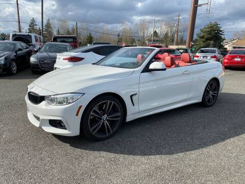 2015 BMW 4 Series for sale at LKL Motors in Puyallup WA