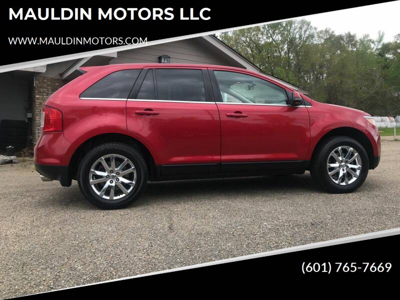 2012 Ford Edge for sale at MAULDIN MOTORS LLC in Sumrall MS
