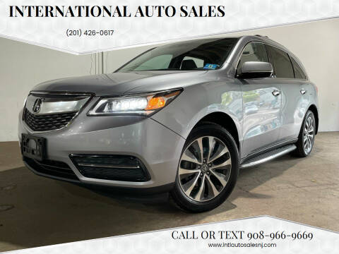 2016 Acura MDX for sale at International Auto Sales in Hasbrouck Heights NJ