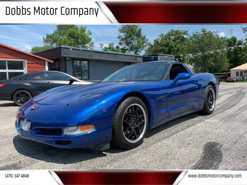 2002 Chevrolet Corvette for sale at Dobbs Motor Company in Springdale AR
