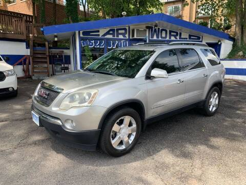 2008 GMC Acadia for sale at Car World Inc in Arlington VA