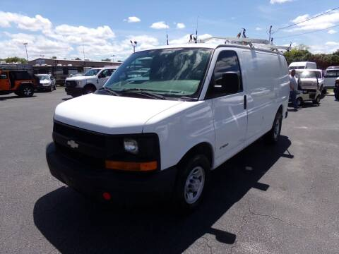 2004 Chevrolet Express Cargo for sale at Snider's Auto Center in Titusville FL