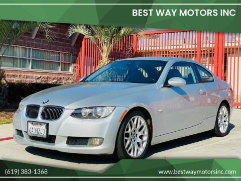 2007 BMW 3 Series for sale at BEST WAY MOTORS INC in San Diego CA