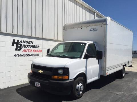 2017 Chevrolet Express Cutaway for sale at HANSEN BROTHERS AUTO SALES in Milwaukee WI