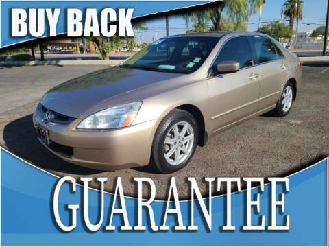 2003 Honda Accord for sale at Reliable Auto Sales in Las Vegas NV