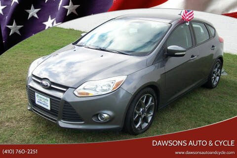 2014 Ford Focus for sale at Dawsons Auto & Cycle in Glen Burnie MD