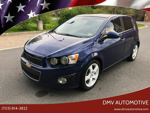 2013 Chevrolet Sonic for sale at DMV Automotive in Falls Church VA