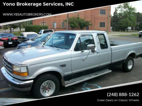 1993 Ford F-150 for sale at Yono Brokerage Services, INC in Farmington MI