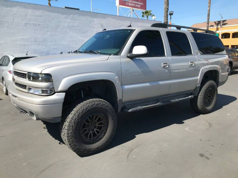 2004 Chevrolet Suburban for sale at Shoppe Auto Plus in Westminster CA
