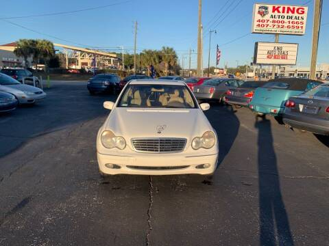 2002 Mercedes-Benz C-Class for sale at King Auto Deals in Longwood FL