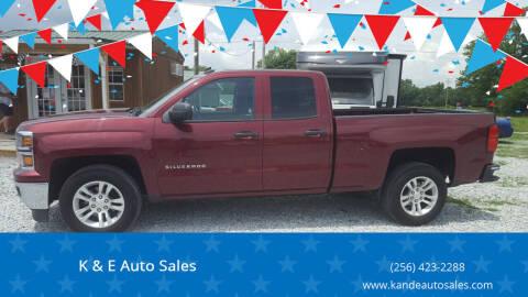 2014 Chevrolet Silverado 1500 for sale at K & E Auto Sales in Ardmore AL