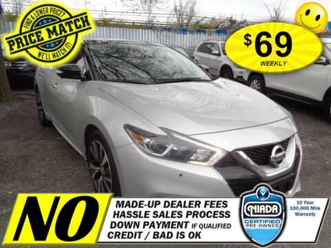 2016 Nissan Maxima for sale at AUTOFYND in Elmont NY