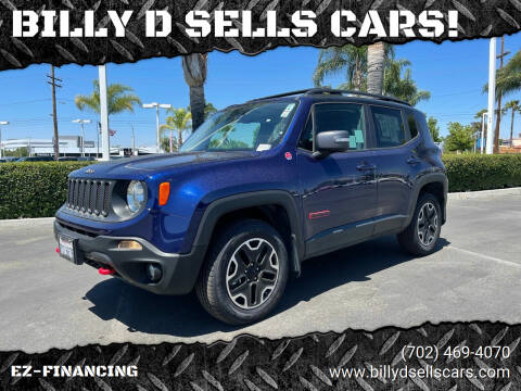 2016 Jeep Renegade for sale at BILLY D SELLS CARS! in Temecula CA