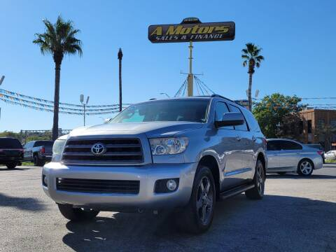 2014 Toyota Sequoia for sale at A MOTORS SALES AND FINANCE in San Antonio TX