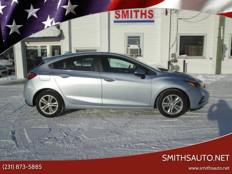 2017 Chevrolet Cruze for sale at SmithsAuto.net in Hart MI