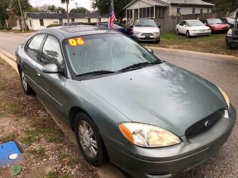 2006 Ford Taurus for sale at Castagna Auto Sales LLC in Saint Augustine FL