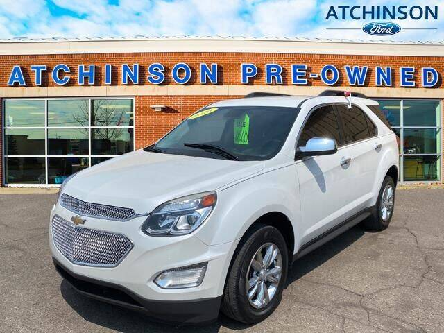 2016 Chevrolet Equinox for sale at Atchinson Ford Sales Inc in Belleville MI