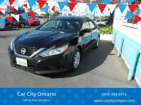 2017 Nissan Altima for sale at Car City Ontario in Ontario CA