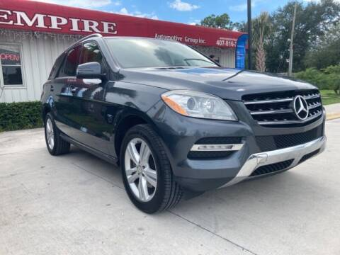 2012 Mercedes-Benz M-Class for sale at Empire Automotive Group Inc. in Orlando FL