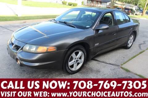 2002 Pontiac Bonneville for sale at Your Choice Autos in Posen IL