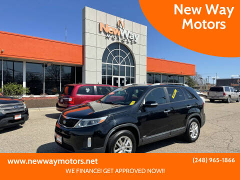 2015 Kia Sorento for sale at New Way Motors in Ferndale MI