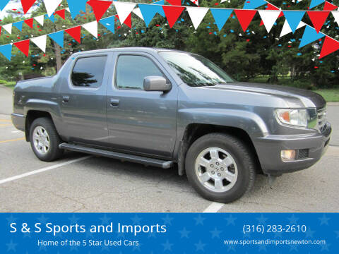 2014 Honda Ridgeline for sale at S & S Sports and Imports in Newton KS