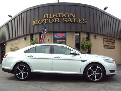2015 Ford Taurus for sale at Hibdon Motor Sales in Clinton Township MI