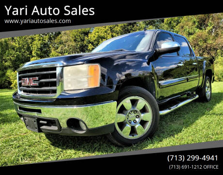 2010 GMC Sierra 1500 for sale at Yari Auto Sales in Houston TX