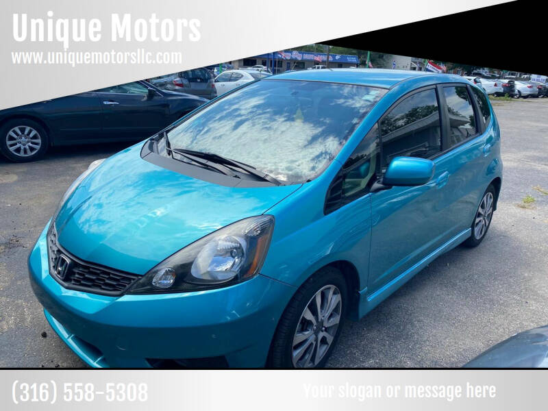 2013 Honda Fit for sale at Unique Motors in Wichita KS