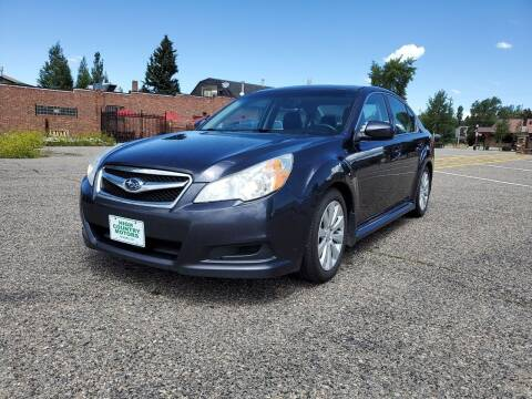 2011 Subaru Legacy for sale at HIGH COUNTRY MOTORS in Granby CO