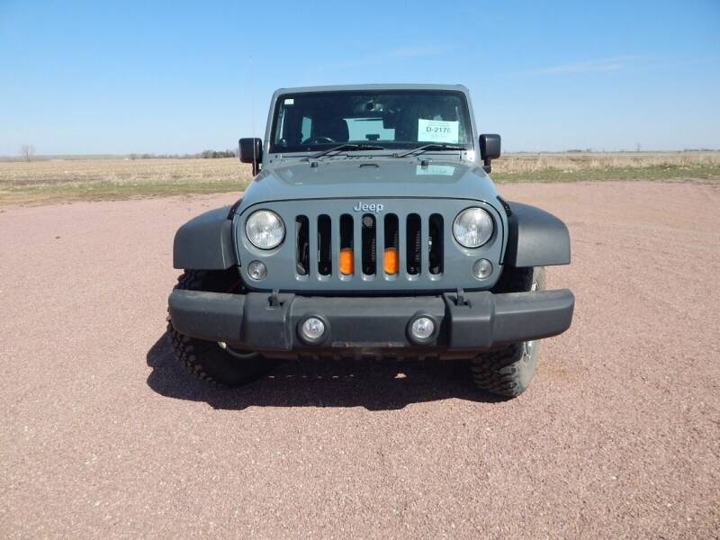 2014 Jeep Wrangler Unlimited for sale at S & M Auto Sales in Centerville SD