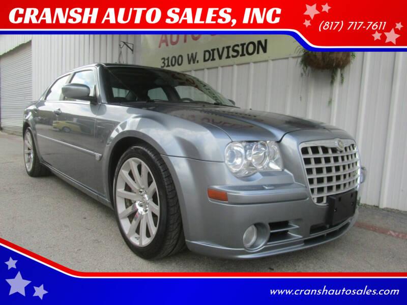 2006 Chrysler 300 for sale at CRANSH AUTO SALES, INC in Arlington TX