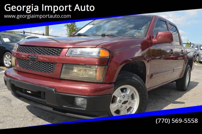 2008 Chevrolet Colorado for sale at Georgia Import Auto in Alpharetta GA