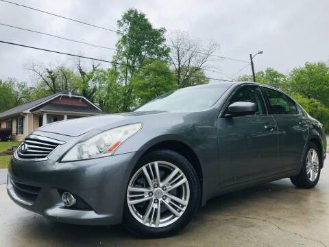 2010 Infiniti G37 Sedan for sale at E-Z Auto Finance in Marietta GA