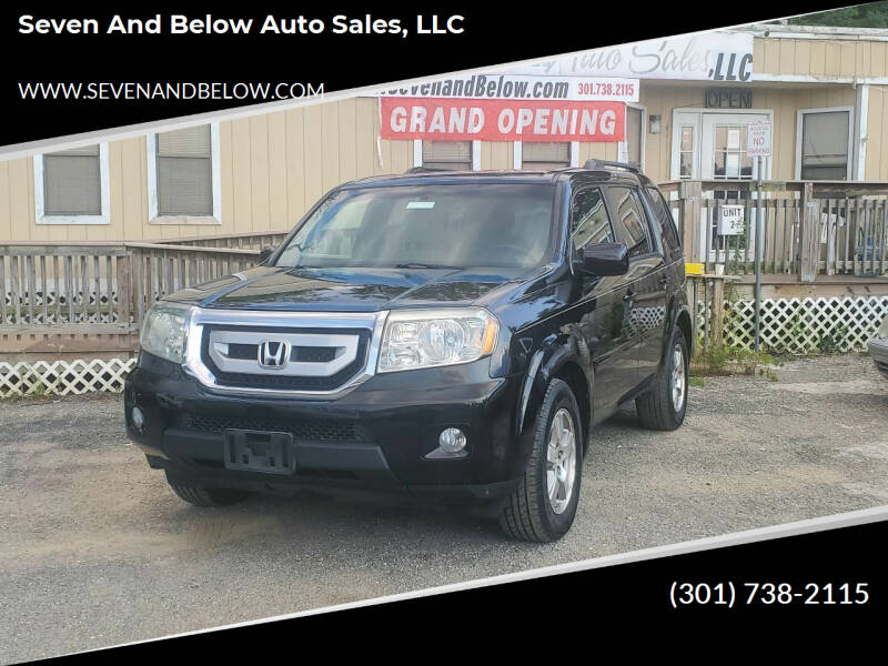 2011 Honda Pilot for sale at Seven and Below Auto Sales, LLC in Rockville MD
