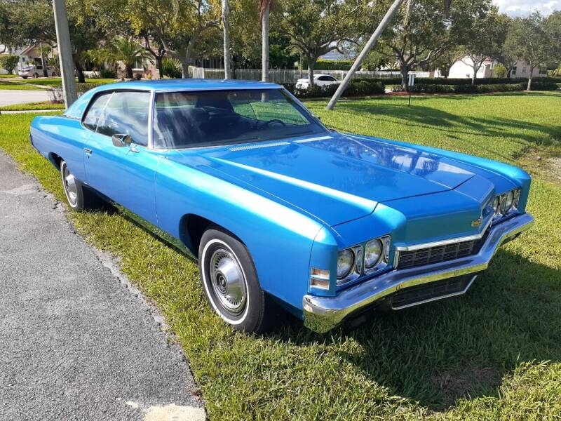 1972 Chevrolet Caprice for sale at Car Mart Leasing & Sales in Hollywood FL