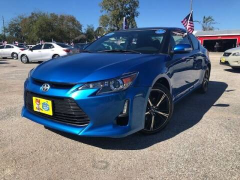 2015 Scion tC for sale at Rivera Auto Group in Spring TX